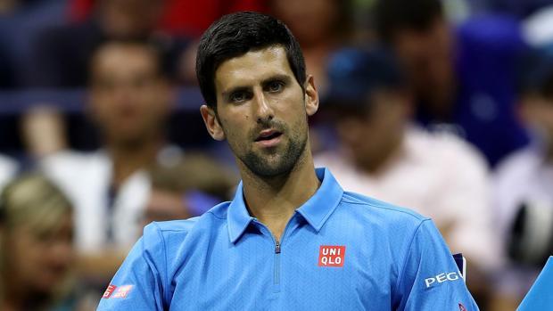 El número uno del ranking ATP, Novak Djokovic