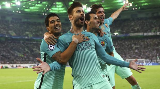 Monchengladbach-Barcelona:  Un Barça más eficaz que brillante cumple en Alemania