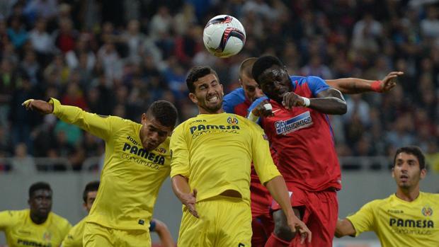Steaua-Villarreal:  El Villarreal empata en Bucarest
