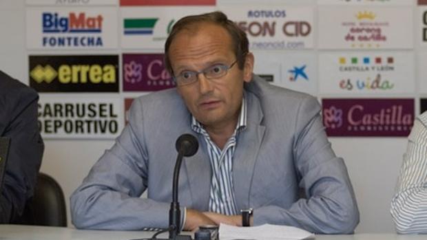 Juan Carlos Barriocanal, presidente del Burgos C. F.