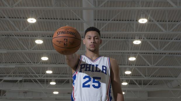 Ben Simmons, número uno del pasado draft de la NBA