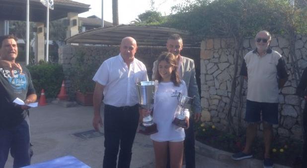 Laura Martínez, ganadora absoluta del IV Gran Premio Playa Alcúdia