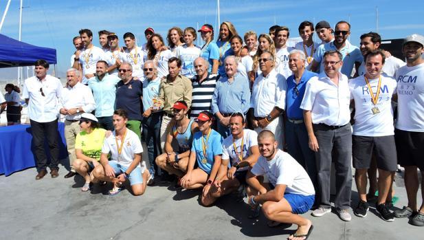 El Mediterráneo de Málaga, campeón de España de Remo de Mar