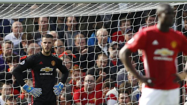 Premier:  El United se estrella con el Stoke