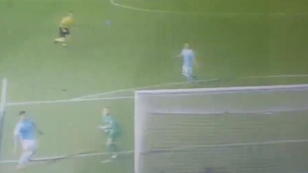 Tremendo error de Ter Stegen en el gol del Celta
