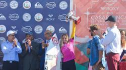 Pauline Ado (FRA), la nueva campeona de Europa de la World Surf League