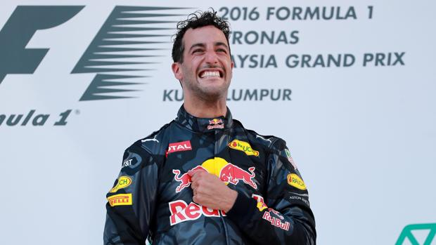 Fórmula 1:  Ricciardo, el triunfador solidario