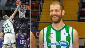 El pívot Luka Zoric hace historia con el Real Betis Energía Plus