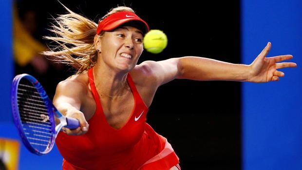Maria Sharapova, durante su último partido en el Open de Australia
