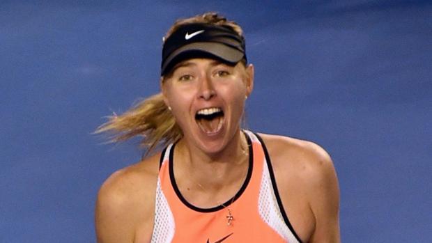 Sharapova: «Es uno de los días más felices de mi carrera»