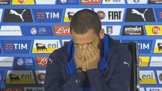 Leonardo Bonucci, durante su rueda de prensa