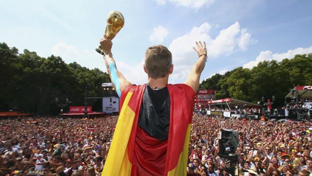 Alemania celebra su último Mundial conquistado en Brasil 2014