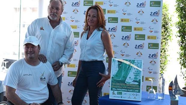 Arturo Montes, Javier Contreras y Esther Megías