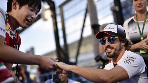 Alonso empieza a ver luz