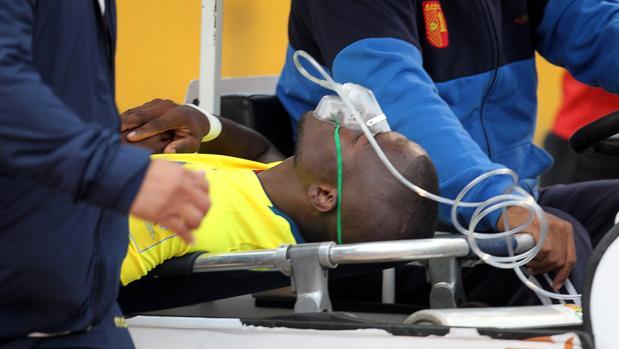 La policía intentó evitar que Enner Valencia se escapara en ambulancia
