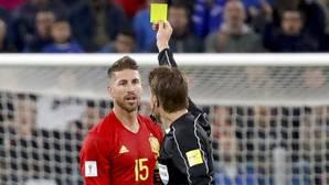 Ramos: «Me han cogido la matrícula»