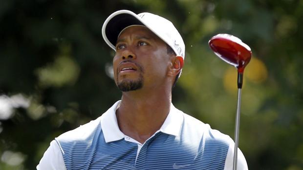 Tiger Woods, en un torneo de 2014