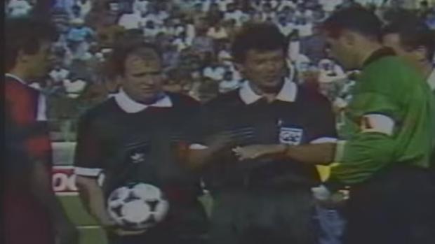 Andoni Zubizarreta era el capitán de la selección española en aquel partido de 1993