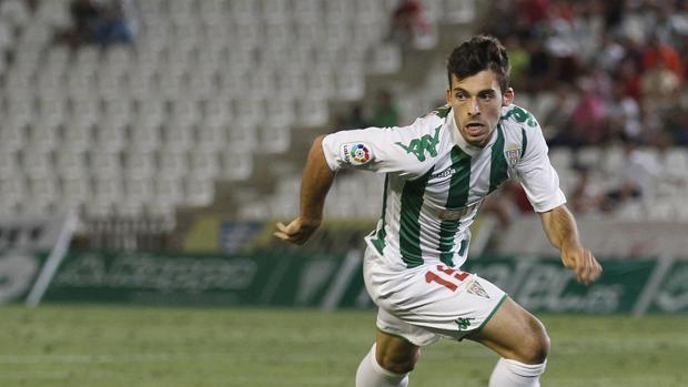 Guille Donoso, extremo del Córdoba CF