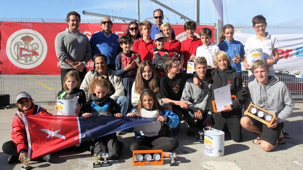 Cataluña, Madrid, Euskadi, podio del Trofeo Kinder