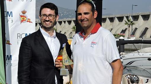 Rodrigo Soto, Responsable Comercial de Iberdrola en Málaga, y Antonio Maestre