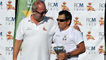 Antonio Miguel Sel, Vicepresidente del R.C. Mediterráneo, y Borja Melgarejo