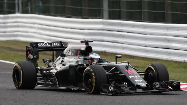 Fórmula 1 | GP de Japón:  Fiasco de McLaren y Alonso: «Ojalá pudiera empujar»