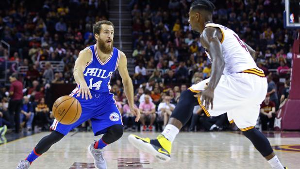 NBA:  Exhibición de Sergio Rodríguez ante LeBron James