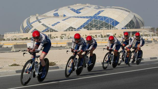 Ciclismo:  Horarios y TV del Mundial de Doha 2016