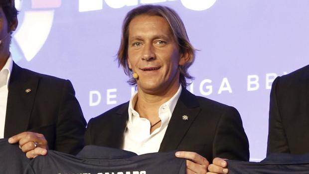 Míchel Sañgado, en un acto reciente de La Liga