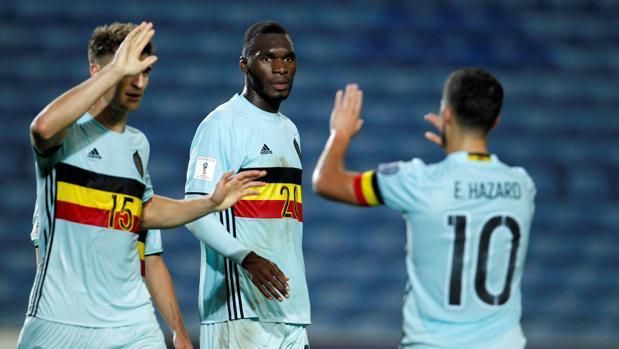 Benteke hace el gol más rápido