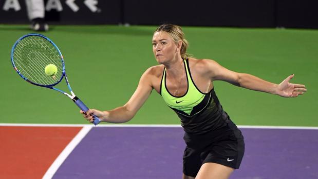 Sharapova vuelve al tenis