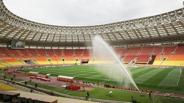 El estadio donde se disputará la final del Mundial de Rusia 2018