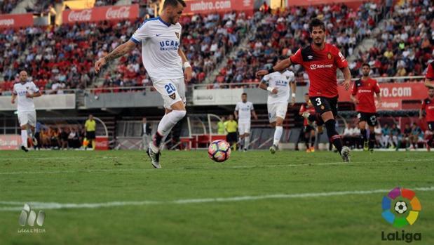 Partido de Copa entre el Mallorca y el UCAM Murcia