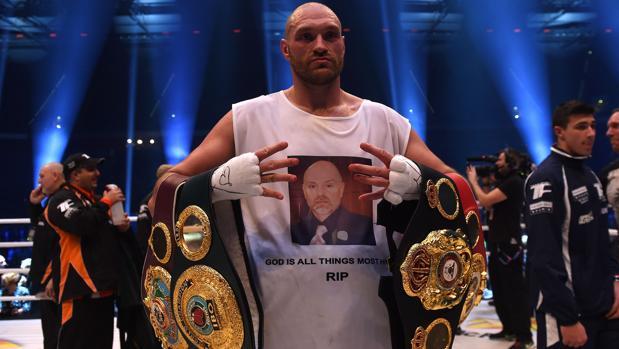 Boxeo:  La cocaína acaba con la carrera del campeón de los pesos pesados Tyson Fury