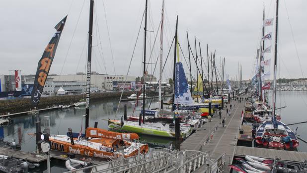 La flota se asienta en Les Sables