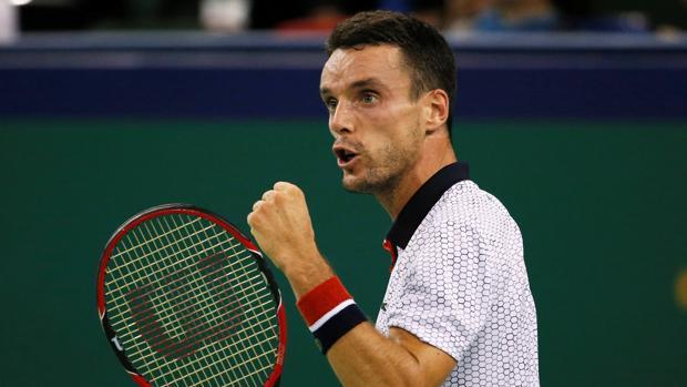 Djokovic-Bautista:  Bautista tumba a Djokovic