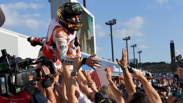 Márquez, campeón del mundo:  Márquez: «Para aprender perdí un campeonato»