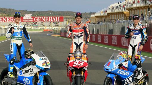 Márquez, campeón del mundo:  El triplete de Márquez, en números