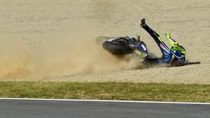 Así fue la caída de Rossi