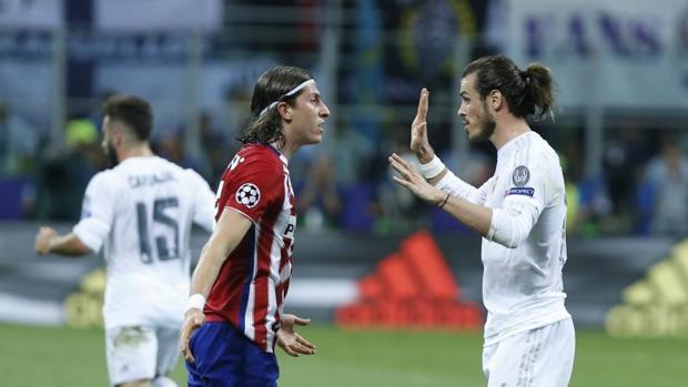 Filipe y Bale, durante la pasada final de la Copa de Europa