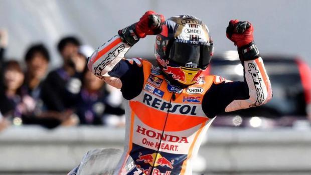 MotoGP:  Marc Márquez: «Mucha gente decía que este título era imposible»