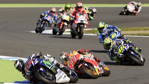 MotoGP:  Márquez, un título a fuego lento