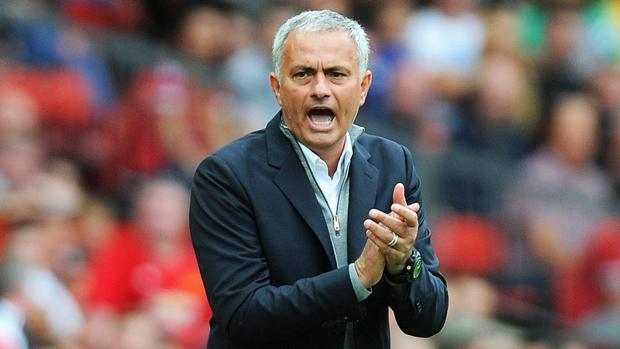 Mourinho en un partido reciente
