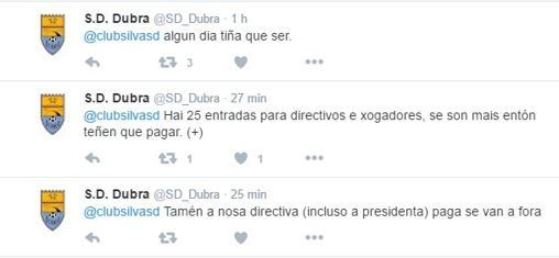 La respuesta de la SD Dubra