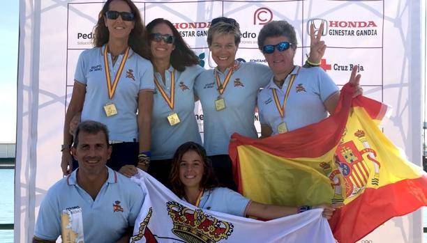 El Mediterráneo de Málaga campeón de España de yola