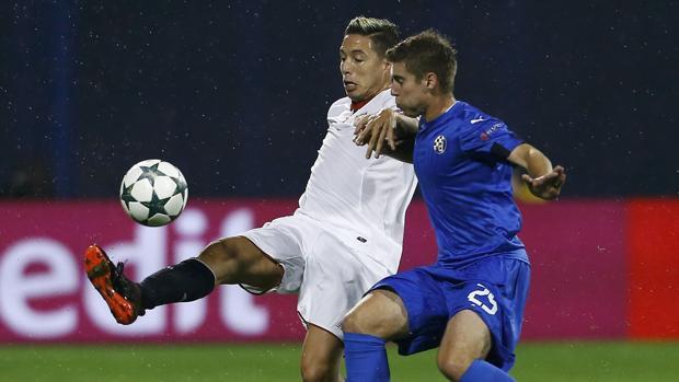 Dinamo Zagreb-Sevilla:  El Sevilla hace los deberes