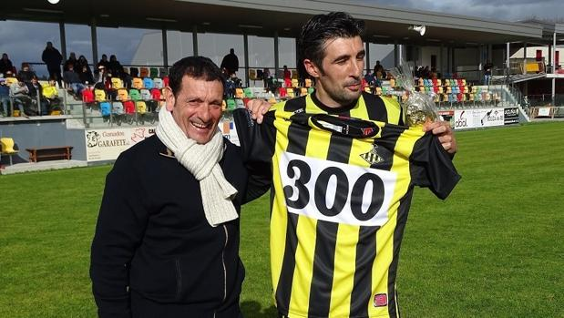 «Changui», en el homenaje que recibió por sus 300 goles como profesional