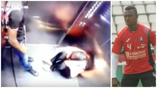 Detenido el colombiano Hanyer Mosquera por agredir a su mujer en un ascensor
