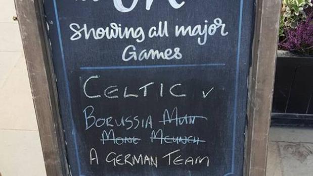 Champions:  «Celtic Glasgow vs. Monc... Mcunch... Un equipo alemán»